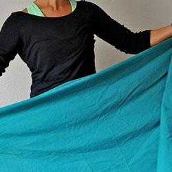 LO SAPEVI CHE le lenzuola si piegano per corto mentre gli asciugamani per lungo!