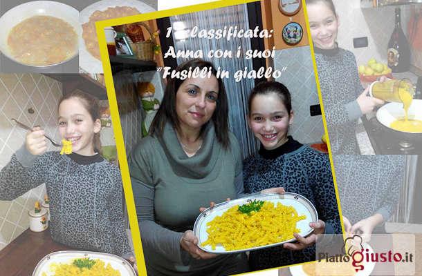 Proclamazione vincitore del Contest Piccoli Chef