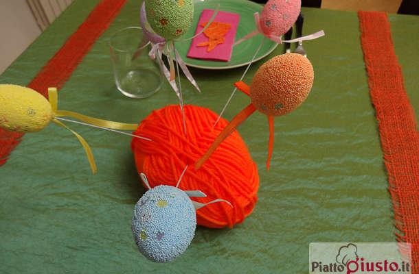 Decora&ricicla con le tavole di Pasqua