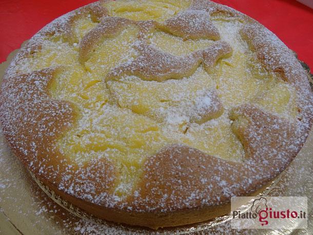 Ricetta torta con crema a limone
