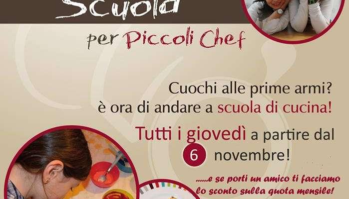 Corso di cucina per Piccoli Chef