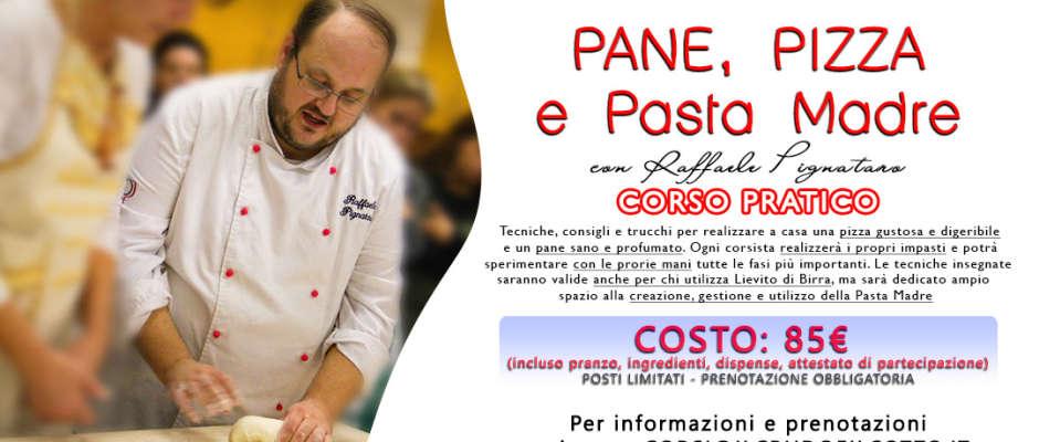 Raffaele Pignataro: pane, pizza e lievito madre