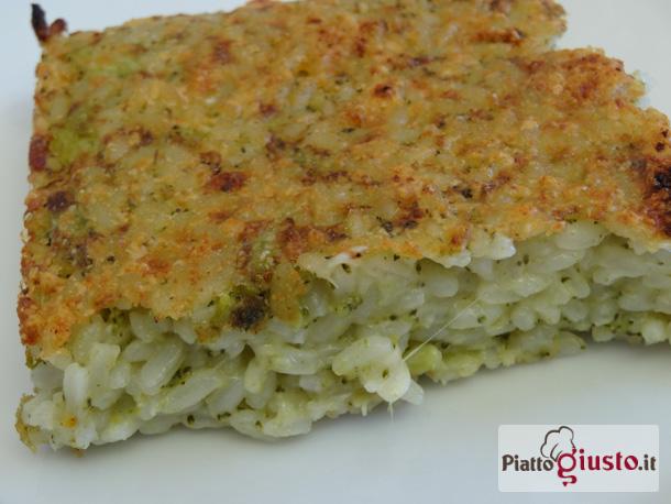 Ricetta Risotto Broccoli.Gratin Di Riso Broccoli E Scamorza Affumicata Il Piatto Giustoil Piatto Giusto