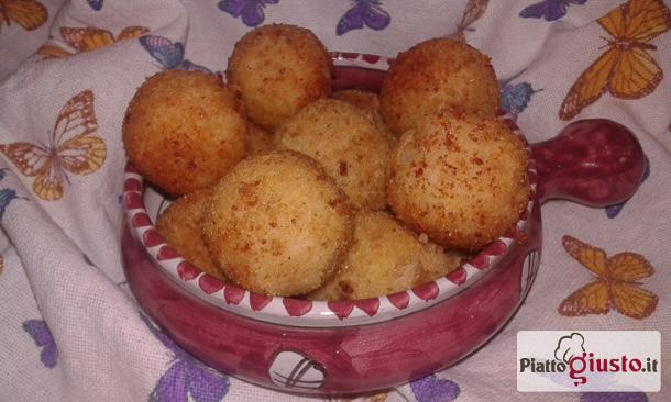 Polpette tonno e patate fritte