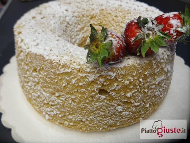Angel cake integrale al limoncello
