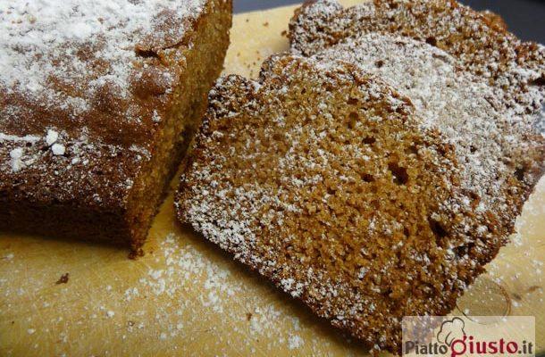 Plumcake integrale olio e zucchero di canna