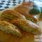 Treccia di sfoglia integrale con zucchine,stracchino e speck