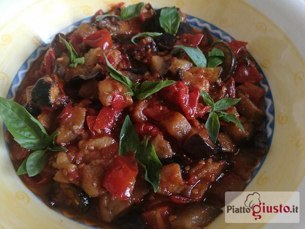 Melanzane e zucchine a funghetto