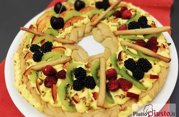 Torta primavera o crostata di frutta