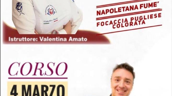 Corsi professionali e amatoriali di pizzeria